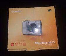 New Canon PowerShot A810 16.0 MP Digital Camera Black