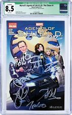 Rare Marvel's Agents of S.H.E.I.L.D. : The Chase #1 /Signed by Entire Cast