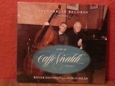 Roger / Aslan - Live At Caffe Vivaldi [CD New]  Digipac  B1066