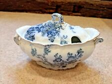 Booths Royal Semi-Porcelain Princess Style Serving Dish With Lid