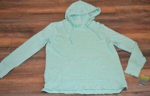 Tek Gear Fancy Green Pullover Hoodie w/ Kangaroo Pocket Workout Gear Sweatshirt