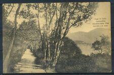 Como 1927 Cartolina 100% Usata con francobollo, Lago di Como