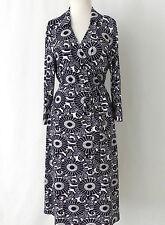 INC International Cencepts Dress Wrap Jersey Floral Size M