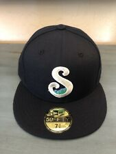 Knoxville Smokies New Era 59Fifty Hat 7 3/8 MiLB Blue Jays Cubs Tennessee New!
