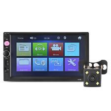 "Universal 7010B 7"" HD Bluetooth Car MP5 Player FM Radio with 720P Camera 12V"
