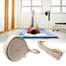 Eg _ Cotone Yoga Cinturino Cintura D-Ring Fibbia Palestra Fitness Resistenza US
