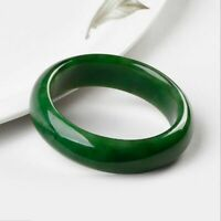 AAA beautiful Female  bangle Chinese Green jade hand-carved bracelet 54mm-65mm