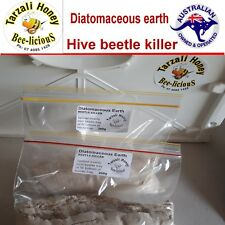 HIVE BEETLE KILLER   DIATOMACEOUS EARTH  BEE HIVE PROTECTION  200g X 2