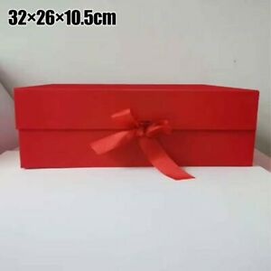 Magnet Clamshell Folding Box High-end Portable Cardboard Cosmetic Box Pink