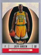 2006-07 Finest Refractors #105 Jeff Green 30/399 XRC REDEMPTION CELTICS CLIPPERS