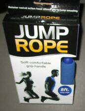 Blue Soft Grip Handle 8 Feet Long Jump Rope