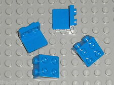 4 Blue Brackets LEGO 44728 / set 75012 4205 75920 7848 60076 4203 5985 4440 7939