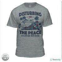 Teelocity NHRA National Hot Rod Association Disturbing The Peace Official...