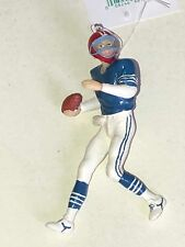 New-Old stock Boy Football Player with Football Ornament Nwt~Midwest (blue)