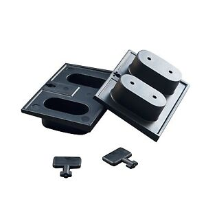 Detia - Wall Bracket For Trap-Box, 10er Set - Bait Box Rat Trap Mousetrap