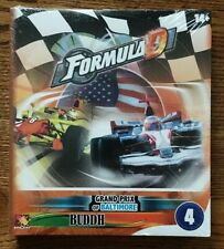Asmodee - Formule De' - Formula D, Grand  Prix of Baltimore & Buddh *NEW* Exp 4
