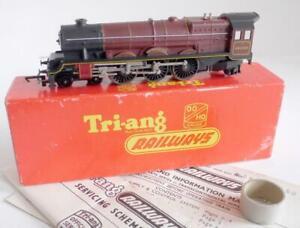 TRIANG RAILWAYS (R258) 4-6-2 THE PRINCESS ROYAL (BR MAROON) 46200  BOXED