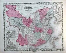 1862 Johnson's China-full color, original