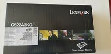 Lexmark C522A3KG Original Toner Cartridge Black C522  C524  C530 C532 C534