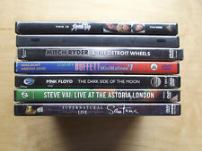 Lot of 7 Classic Rock DVD's -