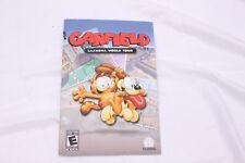 Playstation 2 PS2 -  Garfield: Lasagna World Tour - Instruction Manual Only