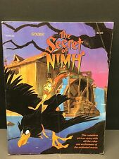 VTG Golden Book The Secret of Nimh Picture Story Comic Mrs Frisby & Rats PB 1982