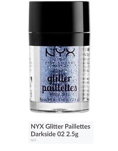NYX Glitter Paillete - Dark Side - FREE POST