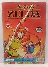 1 Legend of Zelda #1 1990 No Price Variant 1st issue Valiant Comics SUPER RARE