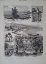 Antique (Pre-1900) Realism Topographical Art Prints