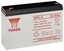 Batterie ricaricabili 12 Ah 6 V per articoli audio e video