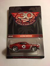 2016 Hot Wheels 30th Convention 69 Ford Mustang Finale Car **with bad blister**