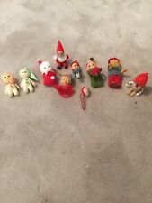 Vintage Christmas 10 - Japan Elf Elves Pixie Knee Huggers Lot