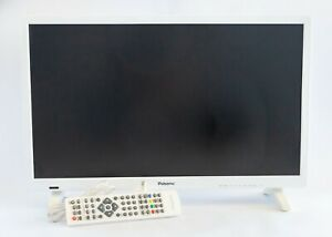 White Palsonic 60cm 23.6inch Full HD LCD TV And DVD Player Combo TFTV6066MW