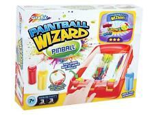 GRAFIX PAINTBALL WIZARD PINBALL CHILDRENS GIRLS BOYS CREATIVE ART GAME TOY GIFT