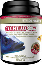 Dennerle Premium Fish Food: Cichlid Carny 1000ml for Carnivorous Cichlids