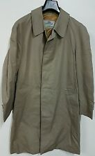 AQUASCUTUM TRENCH UOMO TG L EUROPEA VINTAGE 80'90' TRENCH MAN  CASUAL