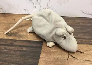 Ikea Gosig Minnen Ratta Grey Rat Soft Plush Cuddly Toy Mouse Rodent