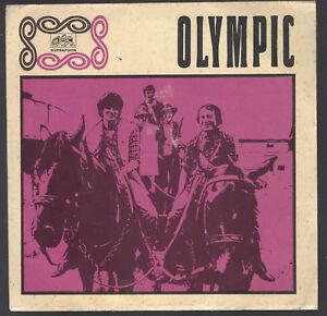 """OLYMPIC - Z Bílé Černou & Zbytečná Holka / Szech Psych Rock - 7""""  Single, 1969 !"""