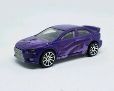 Hot Wheels 2008 Mitsubishi Lancer Evolution Color Shifters Purple VHTF LOOSE