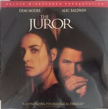 THE JUROR Demi Moore Alec Baldwin - LaserDisc  Near NEW - mmoetwil@hotmail.com