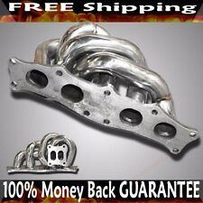 SS Equal Length Turbo Manifold for 91-95 Toyota MR2  3S-GTE 3S-GE T3 T4 Flange