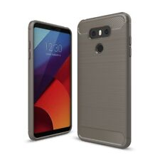 For LG G6 Case - Carbon Fiber Soft TPU Heavy Duty Shockproof Armor Cover