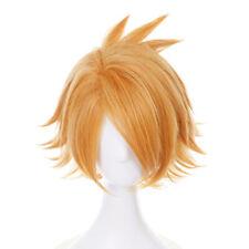 Anime Cartoon Characters Kaminari Denki Yellow Wig Hair Fans Cosplay Exhibiti~JP