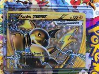 Pokemon Raichu Break XY Breakthrough Holo 50/162 TCG - MP