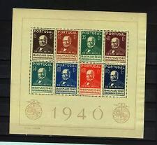 Portugal: MiNr. Block 3 , postfrisch, 100 Jahre Briefmarken 1940