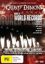 Crusty Demons - Night Of World Records (DVD, 2006)
