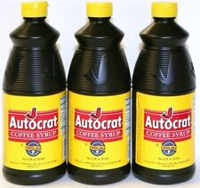 Autocrat Coffee Syrup 6 bottles   DELICIOUS!!
