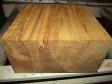 MAPLE BOWL BLANKS LATHE TURNING BLOCK LUMBER WOOD LATHE WOOD 8 X 8 X 4""
