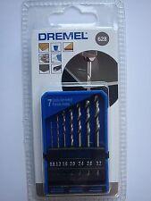 Dremel 7 Piezas Drill Set 628 Dremel Taladro Para Metal 2615062832