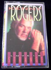 Kenny Rogers Love Is Strange 10 track CASSETTE TAPE